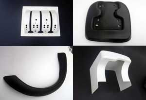 plastic formed parts, products, components